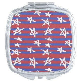 Stars on Stripes Compact Mirror