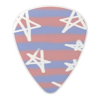 Stars on Stripes Polycarbonate Guitar Pick