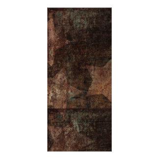 Stars on Wood Rustic Patriotic Custom Rack Cards