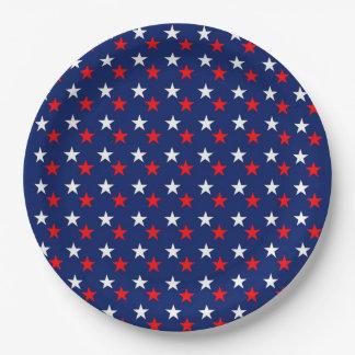 Stars Paper Plate