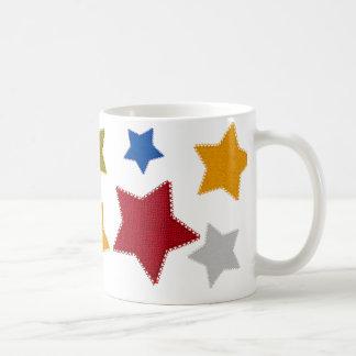 Stars Patched Mug