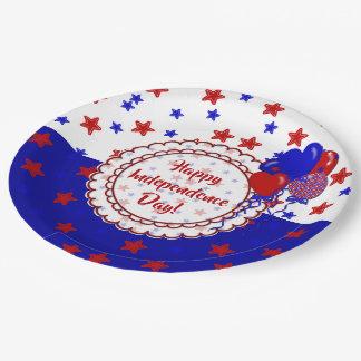 Stars-Patriotic-Paper Plates