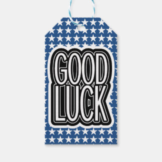 Stars Pattern and Luck Gift Tags