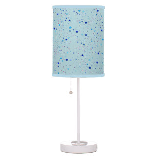 stars pattern galaxy table lamp