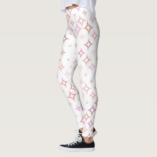 Stars Pattern Leggings