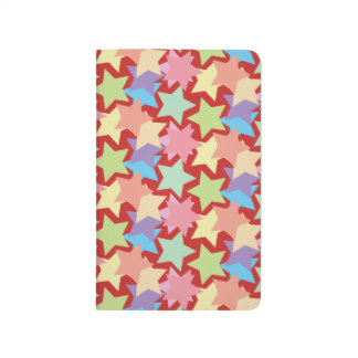 Stars Pattern Pocket Journal