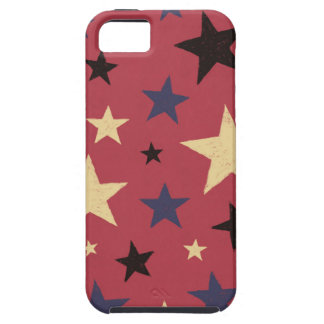 Stars Pattern Red iPhone 5 Case