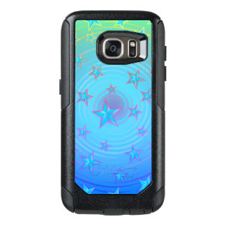Stars pattern with color adjustable OtterBox samsung galaxy s7 case