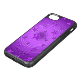 Stars pattern with color adjustable OtterBox symmetry iPhone 8/7 case