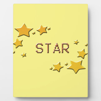 stars plaque