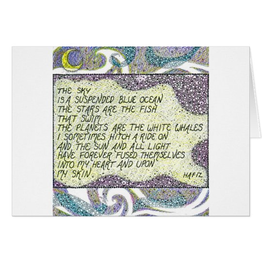Stars Quote Greetings Card
