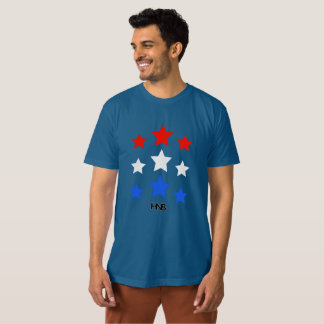 Stars red white and blue tees