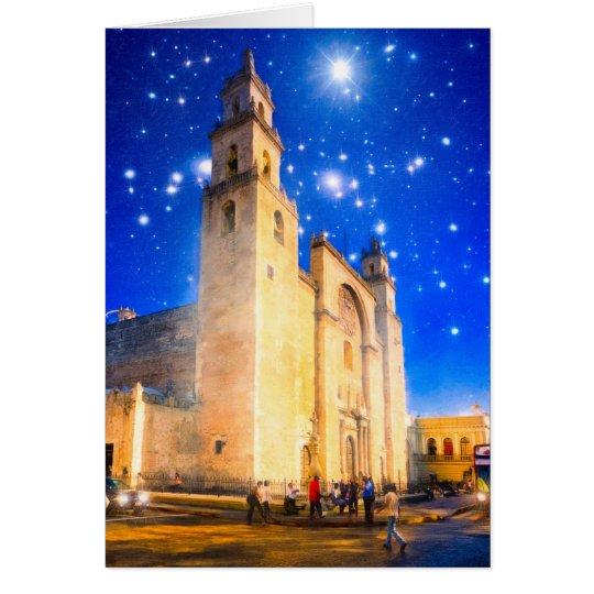 Stars Shine Down On Mexico Card