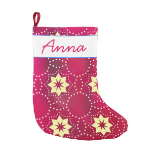 Stars Small Christmas Stocking