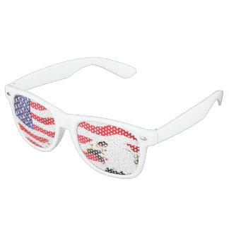 Stars, stripes and eagle sunglasses