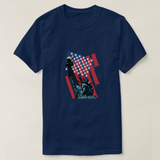 Stars, stripes and liberty T-Shirt