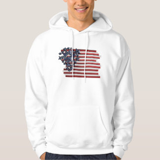 Stars, Stripes For the 4th Hoodie