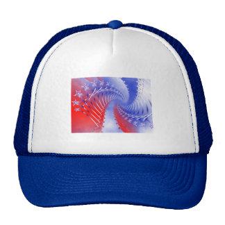 Stars & Stripes Patriotic Trucker Hat
