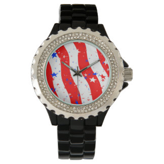 Stars & Stripes Wrist Watch
