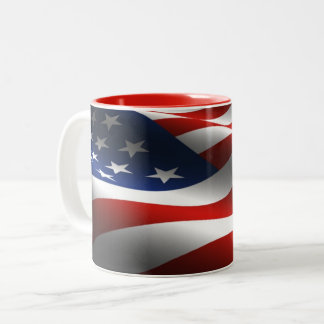 Stars & Strips USA Flag Mug
