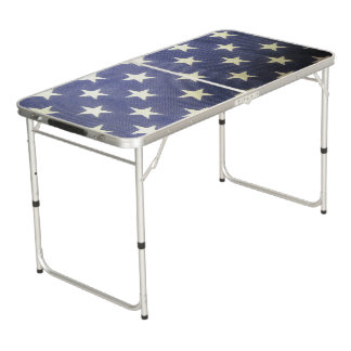 Stars Tailgate Size Beer Pong Table