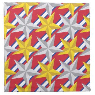 Stars USA Pattern Napkin