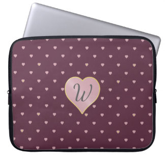 Stars Within Hearts on Port Laptop Sleeve