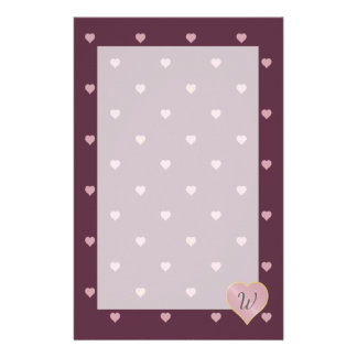 Stars Within Hearts on Port Stationery