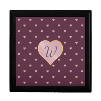 Stars Within Hearts on Port Tile Box