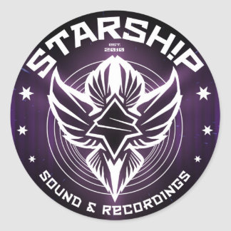 STARSHIP Sound & Recordings Sticker