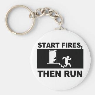 Start Fires Then Run Keychains