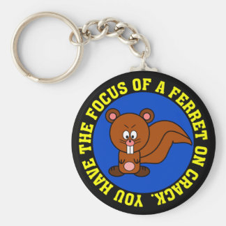 Start focusing on getting your job done basic round button keychain