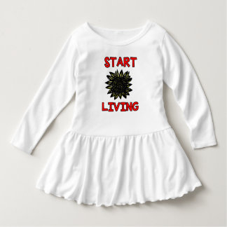 """Start Living"" Toddler Ruffle Dress"