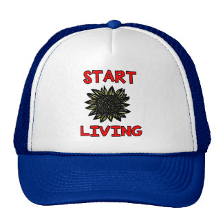 """Start Living"" Trucker Hat"