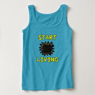 """Start Living"" Women's Classic Tank Top"