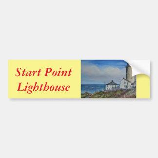Start Point Lighthouse Bumper Sticker
