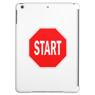 start road traffic sign symbol stop cover for iPad air