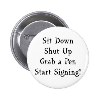 Start Signing 2 Inch Round Button