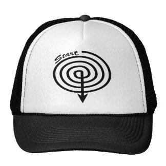 Start Stop Swirl Trucker Hat