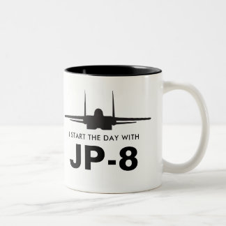 Start the Day with JP-8 Mighty Eagle F-15 Mug