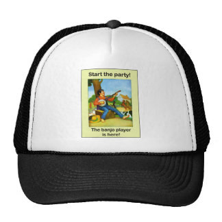 Start the party! The banjo player is here! Trucker Hat