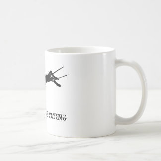 Start your day off with a Flying Trapeze Coffeemug Coffee Mug