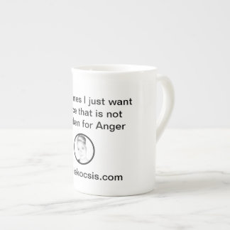Start Your Morning With Silence Tea Cup