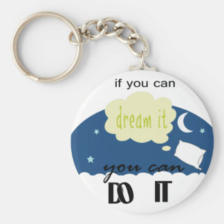 started with a dream keychains