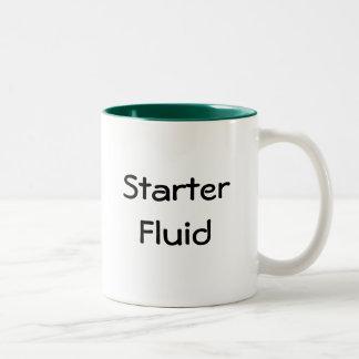 Starter Fluid Two-Tone Coffee Mug