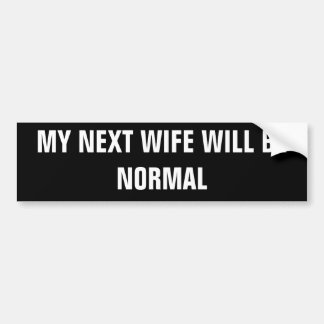 Starter Wife Bumper Sticker