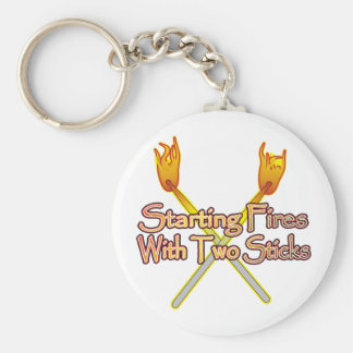 Starting Fires Keychains