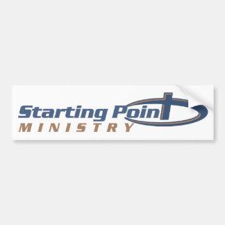 Starting Point Bumper Sticker