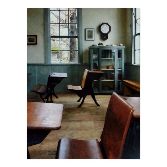 STARTING UNDER $20 - One Room Schoolhouse Poster
