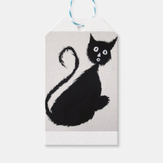 Startled Cat Gift Tags